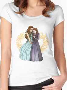 The Wolf and the Rose Women's Fitted Scoop T-Shirt