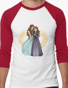 The Wolf and the Rose Men's Baseball ¾ T-Shirt