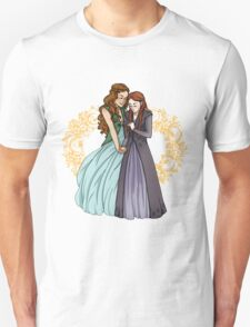 The Wolf and the Rose Unisex T-Shirt