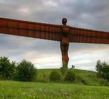 Angel of the North by Gouzelka