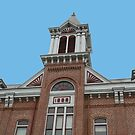 Old Powhaton Courthouse by Susan Blevins