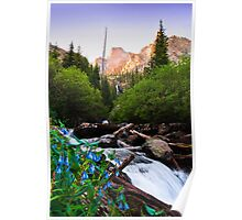 Morning in the Sangre De Cristo Mountains Poster
