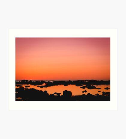 Washington Sunset Art Print