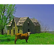 Home Sweet Home - Elk County, Kansas Photographic Print