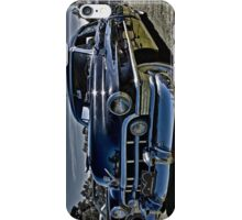 1950 Black Cadillac 4 door iPhone Case/Skin