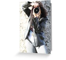 Capturing beauty through my lens Greeting Card
