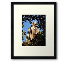Cathedral of Learning - University of Pittsburgh Framed Print