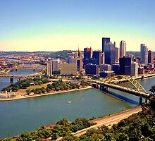 Golden Triangle - Pittsburgh, Pennsylvania by michael6076