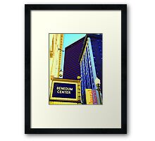 City Buildings - Pittsburgh, Pennsylvania Framed Print
