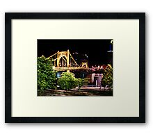 Roberto Clemente Bridge - Pittsburgh, Pennsylvania Framed Print