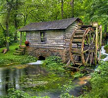 Reed Springs Grist Mill by Jerry E Shelton