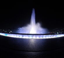 Point State Park Fountain by wjwphotography