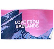 halsey, badlands Poster