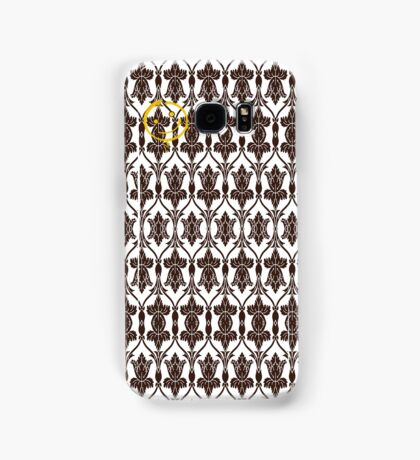 Sherlock Holmes Wallpaper Samsung Galaxy Case/Skin