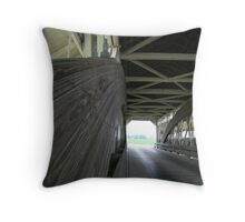 the Bigelow Bridge Throw Pillow