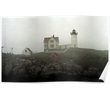 Lighthouse - Photo Watercolor Poster