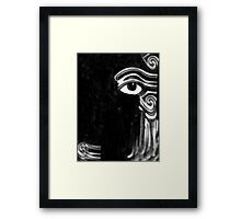 Dare Eye Reveal Myself? Framed Print