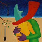 Relic Embrace Beside a Turkey Baster Tree by Rudy Pavlina