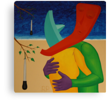 Relic Embrace Beside a Turkey Baster Tree Canvas Print