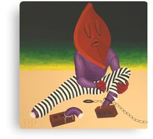 Escaping the Autoanimation Chain Gang Canvas Print