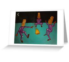 Celebratory Dance Greeting Card