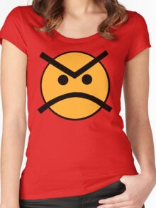 Always Angry 2 Women's Fitted Scoop T-Shirt