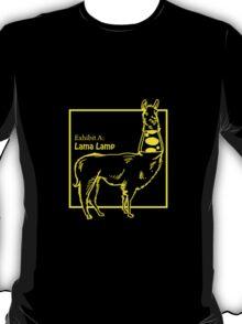 Lama Lamp T-Shirt