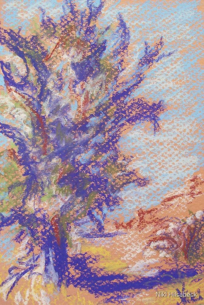 Oak (pastel) by Niki Hilsabeck