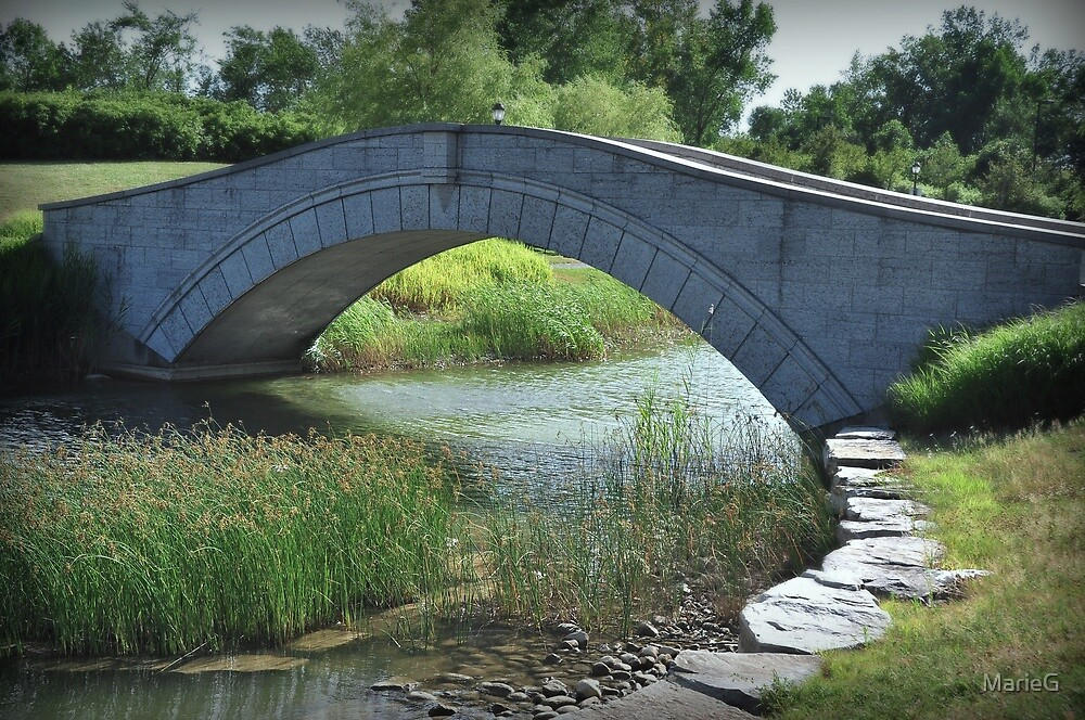 Bridge over troubled water by MarieG