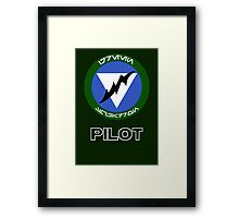 Green Squadron - Star Wars Veteran Series Framed Print