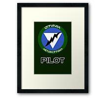 Green Squadron - Star Wars Veteran Series Framed Print