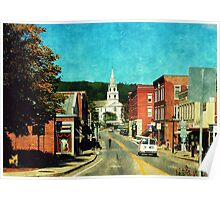 Middlebury, Vermont Poster