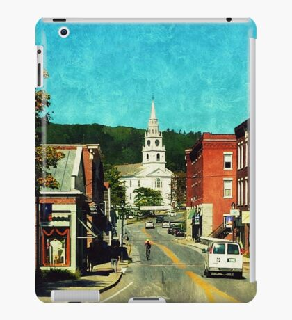 Middlebury, Vermont iPad Case/Skin