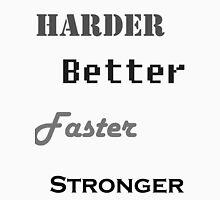Harder, Better, Faster, Stronger Mens V-Neck T-Shirt
