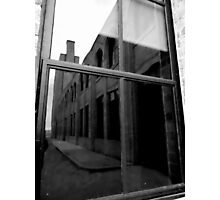 Hydro Reflections in B&W Photographic Print