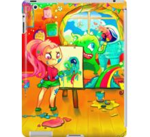 Aliens, Monster, Girls and Friends iPad Case/Skin
