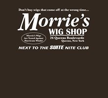 Morrie's Wig Shop (White Print) T-Shirt