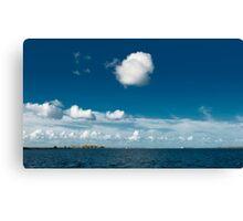 White cloud Canvas Print