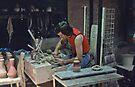 Bendigo Pottery 19750211 0002 by Fred Mitchell
