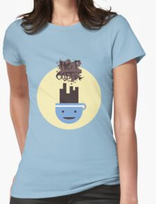 Hot Coffee Womens Fitted T-Shirt