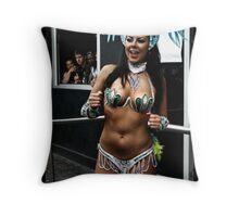 Samba Dancer Throw Pillow