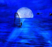 Night Sail by Richard Gaffney