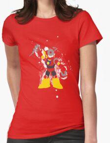 Metal Man Splattery T-Shirt Womens Fitted T-Shirt