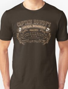 Captain Howdy's Ouija Boards (Color Print) T-Shirt