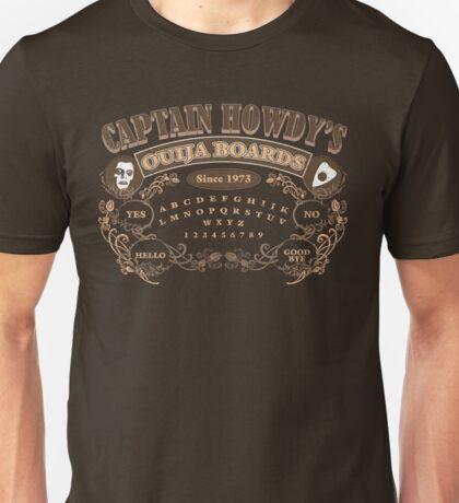 Captain Howdy's Ouija Boards (Color Print) Unisex T-Shirt