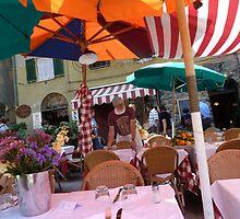 Cafe In Cinque Terre  by joycee