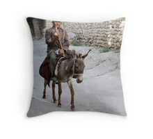 Passing By... Throw Pillow