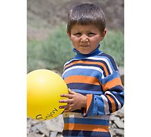 Balloon Boy Photographic Print