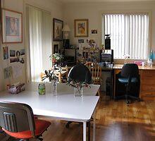 Tidy studio by Karin Zeller