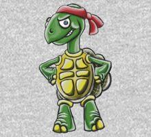 Ninja Tortoise Kids Tee